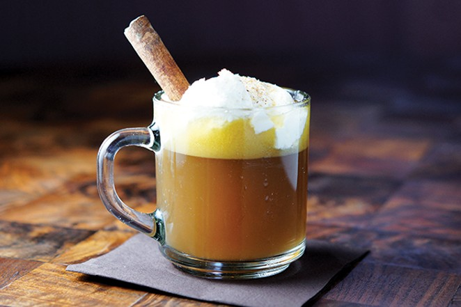 Hot buttered rum - PHOTO BY ISTOCKPHOTO.COM