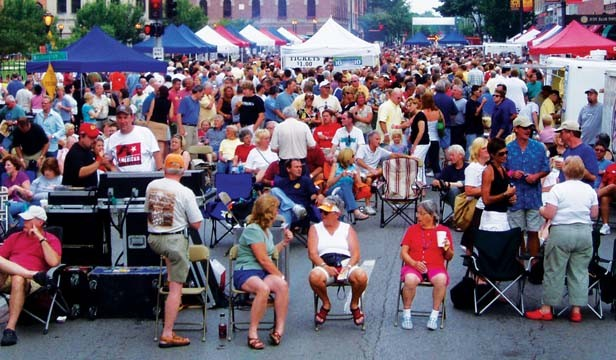 Variety – in food and music – traditionally attracts thousands to downtown Springfield for Taste of Downtown. - PHOTO COURTESY OF DOWNTOWN SPRINGFIELD, INC.