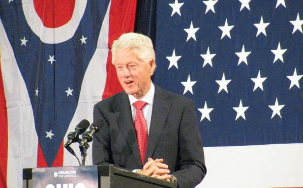 Bill Clinton is the 2013 recipient of the Lincoln Leadership Prize to be awarded May 4 in Chicago by the Abraham Lincoln Presidential Library Foundation.
