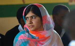 Malala Yousafzai in He Named Me Malala.