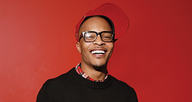 Hip-hop superstar T.I. will perform at Decatur Celebration Aug. 3, 4 and 5. Left, top to bottom - Turnpike Troubadours perform at Boondocks July 6. Los Injectors perform at the Legacy of Givng Music Festival June 1. Luke Combs performs at Illinois State F