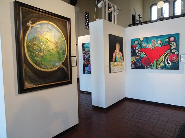 """Work by Diane Schleyhahn and Janet Sgro from """"Regeneration"""" at The Pharmacy Gallery and Art Space. - PHOTO COURTESY OF THE PHARMACY GALLERY AND ART SPACE"""