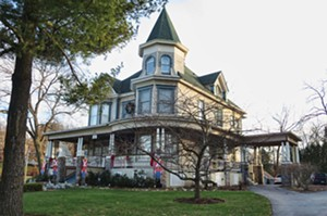 The movie's Cherry Street Inn is now the Royal Victorian Manor Bed & Breakfast. - PHOTO BY JOHN CAMPER