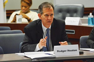 Rodger Heaton of Springfield chairs the criminal justice reform commission. - PHOTO BY LEE MILNER