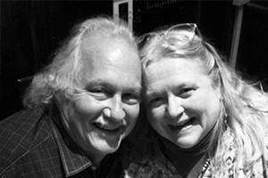 The late Julianne Glatz with her dishwasher of 42 years, Peter Glatz.