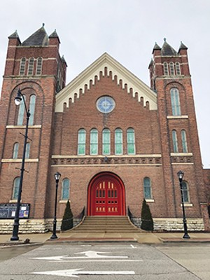First Presbyterian as it looks today. Senior minister is Rev. Susan Phillips, who joined the staff in July 2017.