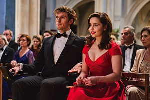 Sam Claflin as Will Traynor and Emilia Clarke as Lou Clark in Me Before You. - PHOTO COURTESY WARNER BROS.