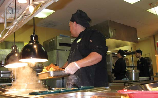 Many work-release residents are employed as cooks at various restaurants surrounding the Adult Transition Centers. - PHOTO COURTESY ILLINOIS DEPARTMENT OF CORRECTIONS