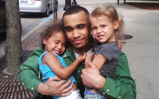 Richard Britts, center, spent more than two years in prison accused of violently shaking his then three-month-old daughter, Saniya, left. Britts was found not guilty last week. Shown at right is Natieanna, Britts' older daughter. - PHOTO PROVIDED BY RICHARD BRITTS