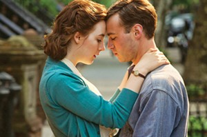 Domhnall Gleeson as Jim Farrell and Saoirse Ronan as Ellis Lacey in Brooklyn. - PHOTO COURTESY FOX SEARCHLIGHT PICTURES