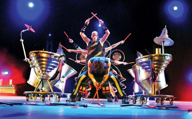The Vancouver-based percussion group ScrapArtsMusic performs at Sangamon Auditorium Sept. 30.