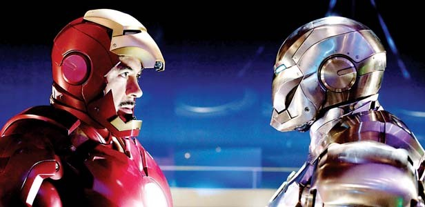 Robert Downey Jr. reprises his role as Tony Stark in Iron Man 2.