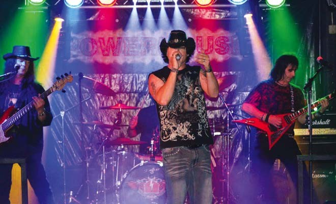 Powerhouse performs classic rock during the Whirlwind Bar Tour Dec. 28, from 6 to 7 p.m. at Boondocks.