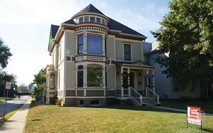"""This fully restored home at 901 N. Fifth St., now on the market for sale, is one of the """"after"""" houses featured on Enos Park's Oct. 5 """"Before and After House Tour."""" - PHOTO BY JOE COPLEY"""