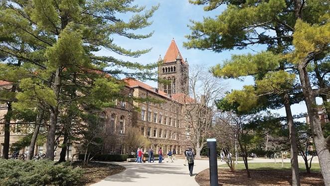 Altgeld Hall at University of Illinois in Urbana.