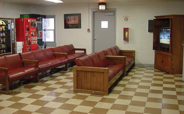 When Decatur ATC residents are not working or participating in self-help programs they are commonly seen relaxing in the center's TV lounge. - PHOTO COURTESY ILLINOIS DEPARTMENT OF CORRECTIONS
