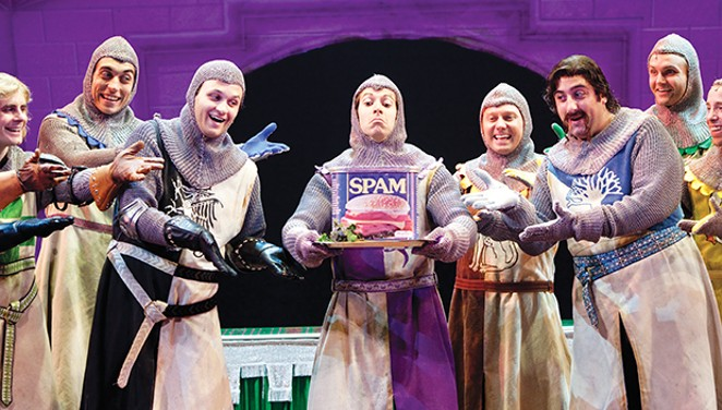 Monty Python's Spamalot will be at Sangamon Auditorium Nov. 8.