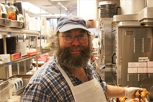 Mark Hartstein, chef/owner of Watson's Shack & Rail in Champaign. - PHOTO BY PETER GLATZ