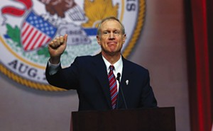 Gov. Bruce Rauner - PHOTO BY NANCY STONE/CHICAGO TRIBUNE/TNS