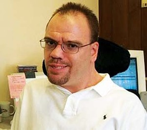 Tyler McHaley, president of Springfield-based Disability Activists.