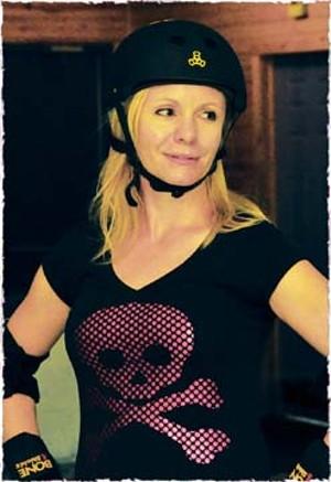 Sweet Caroline, aka Carol Sponagle, a local college teacher - PHOTO BY  TREVOR MILLER