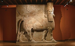 Recreation of the interior courtyard of the palace of Assyrian king Sargon II (721-705 BC) at the Oriental Institute Museum. This is the only such presentation in the western hemisphere. - PHOTO COURTESY ORIENTAL INSTITUTE OF THE UNIVERSITY OF CHICAGO