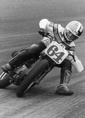 Charlie Roberts at the Springfield Mile.