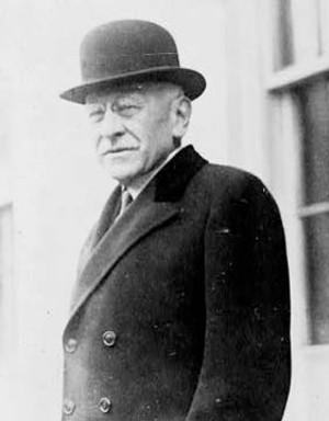 American business executive and philanthropist Julius Rosenwald.