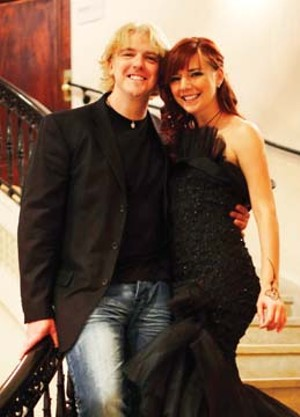 Nick and Marina at the Carnegie Institute in  Washington, D.C.