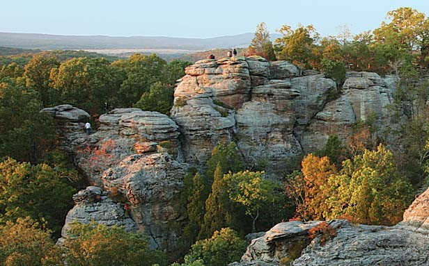 Garden of the Gods in the Shawnee National Forest in southern Illinois. - PHOTO BY DANIEL SCHWEN