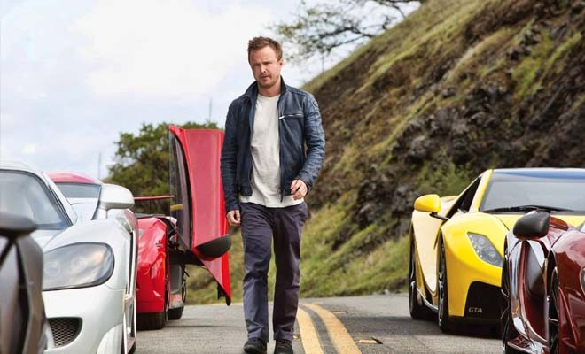 Aaron Paul stars as Tobey Marshall in Need for Speed. - PHOTO BY WALT DISNEY PICTURES