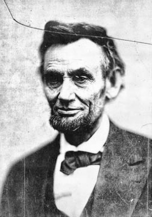 This Feb. 5, 1865, photo shows a haggard Lincoln. Comparing this to photos taken at the beginning of his presidency, some people speculate that Lincoln was suffering from a variety of illnesses near the end of his life - PHOTO FROM THE LIBRARY OF CONGRESS