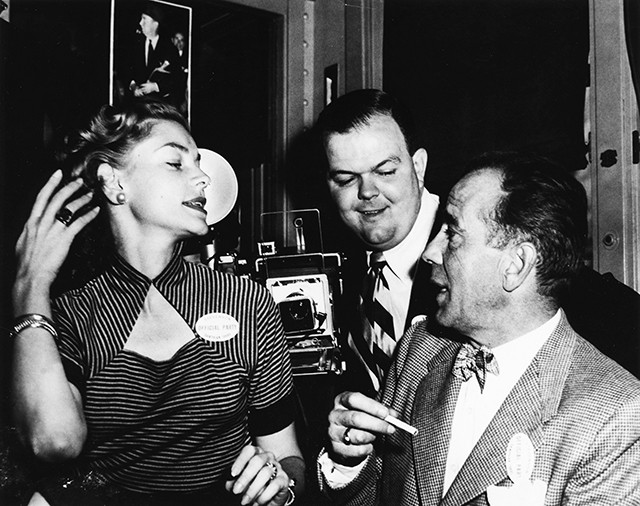 Lauren Bacall and Humphrey Bogart came to Springfield in 1952 to await election results of Gov. Stevenson's bid for U.S. President.