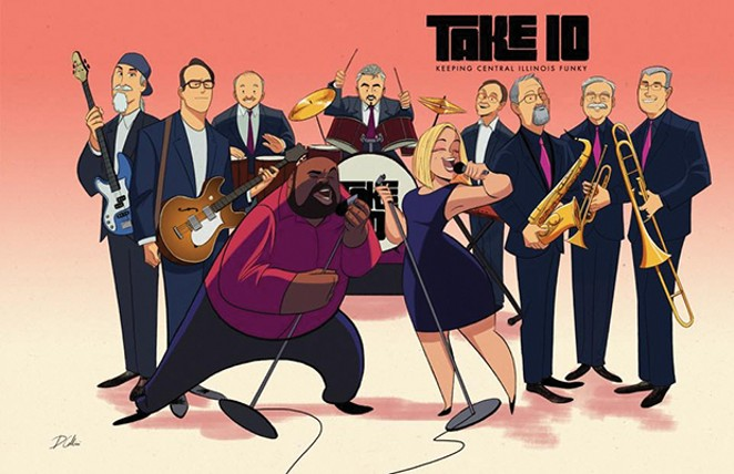 Take 10 takes on the Curve Inn on Sunday, May 27, 6-10pm.