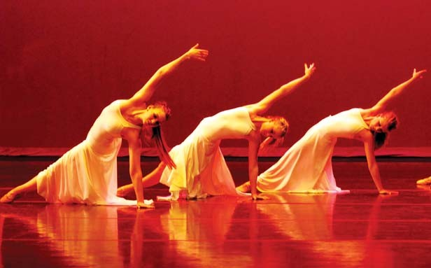 Springfield Ballet Company's Rockballet is performed in Sangamon Auditorium Sept. 10 and 11. - PHOTO BY PATRICK RUSSELL