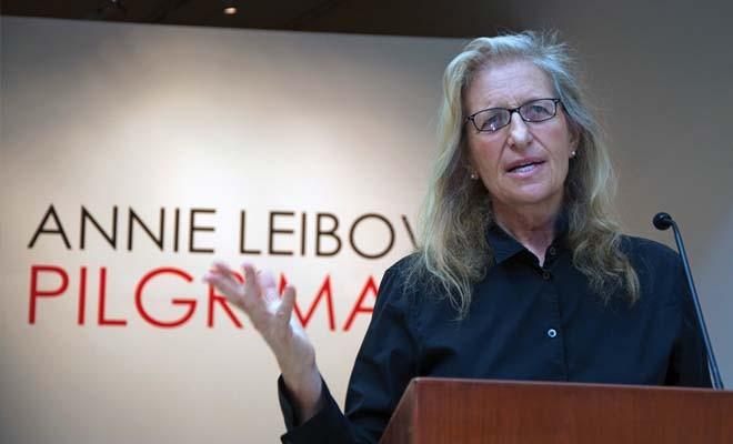 Annie Leibovitz - PHOTO BY GINNY LEE