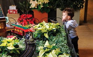 Trains take center stage at Chicago Botanic Garden.