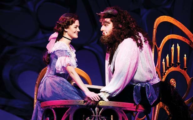 Sangamon Auditorium welcomes the Broadway musical Disney's Beauty and the Beast for two nights on Nov. 30 and Dec. 1.