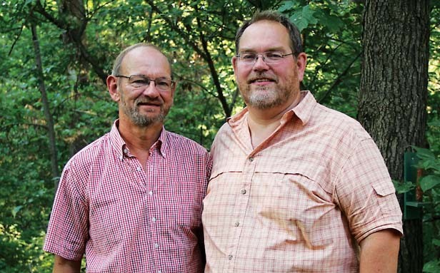Bert Morton and Lee Korty of Springfield are plaintiffs in a lawsuit that seeks to legalize same-sex marriage in Illinois.