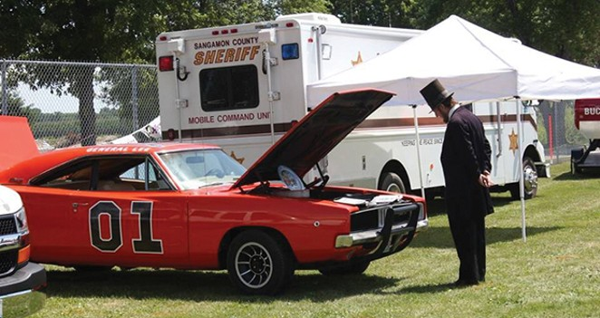 Abe Lincoln Car Show Spectacular Aug 4, Knights Action Park