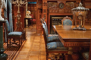The Dining Room at the Driehaus Museum. - PHOTO BY ALEXANDER VERTIKOFF