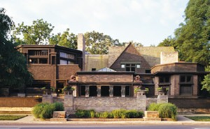 Wright was just 21 when he designed the house he would use as a living laboratory for 20 years. - COURTESY OF THE FRANK LLOYD WRIGHT TRUST.