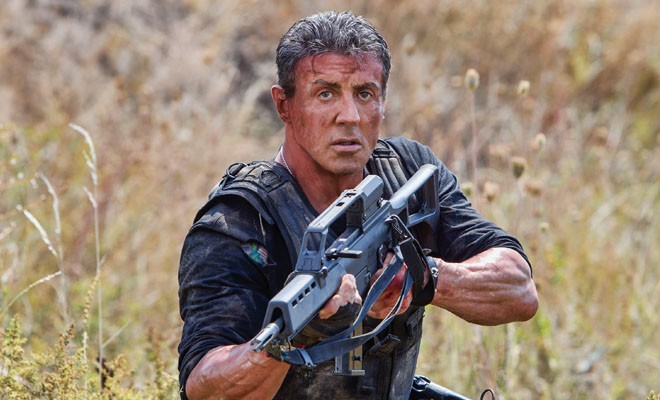 Sylvester Stallone as Barney Ross in Expendables 3.