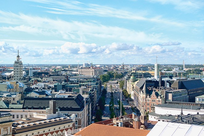 Helsinki, capital of the nation with the No. 1 education system in the world. - PHOTO BY JONIK VIA WIKIPEDIA.ORG
