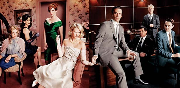"""The cast of """"Mad Men."""" An encore of season three is scheduled to be shown on Sunday nights beginning March 21 on the AMC cable channel."""