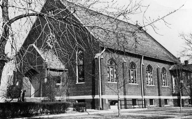 St. Vincent de Paul Lithuanian Catholic Church stood at the corner of 8th and Enos streets from 1908 until 1975, when it was demolished. The site is now a parking lot. The church was the spiritual, social and cultural home to more than 1,400 Lithuanian-Am - PHOTO COURTESY RICK DUNHAM