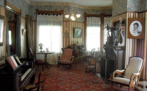 The parlor and other rooms of the 1890 Hemingway birthplace have been restored to their Victorian glory. - PHOTO BY JOE CAMPER