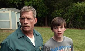 "Thomas Haden Church and Josh Wiggins as father and son in ""Max."" - COURTESY WARNER BROTHERS."