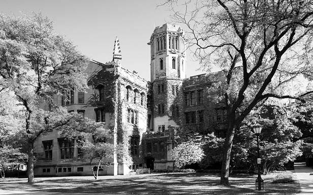 Julius Rosenwald Hall at the Hyde Park campus of the University of Chicago