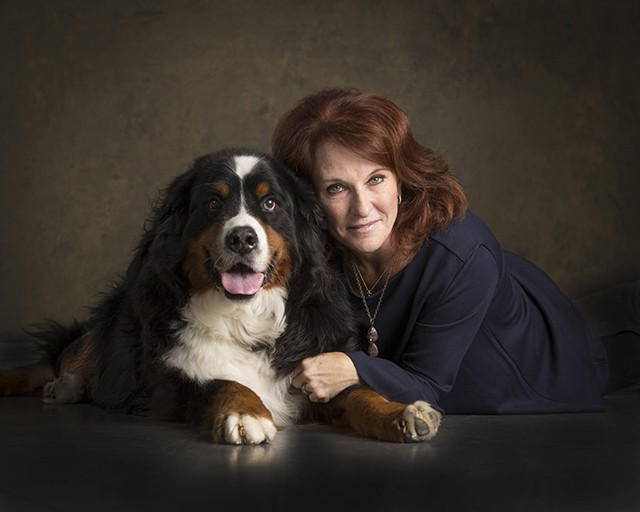 """Jill Egizii, WILD Canine Rescue """"Jack will be 10 on Dec. 25, and in the Bernese Mountain dog world he is very old. He has had cancer in his foot and lost three toes. He also has hip issues, but never loses his kind, happy and gentle spirit. �"""